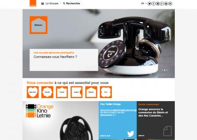 Orange.com - corporate website