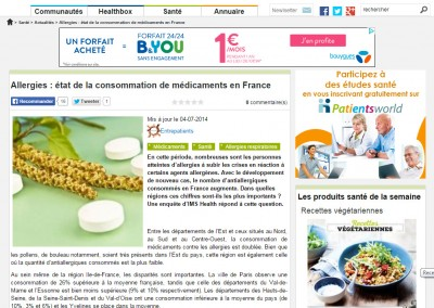 Actualité PatientsWorld