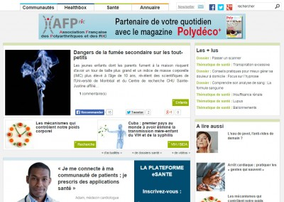 Site web PatientsWorld